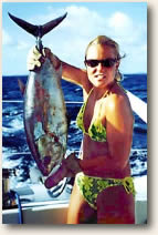 Tuna caught from catamaran Andiamo