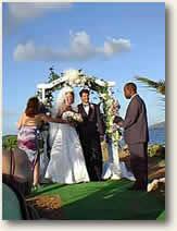 Tropical Wedding on Romantic Getaway Dream Yacht Charters
