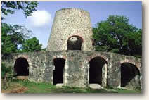 Sugar Mill Ruins on St. John, USVI