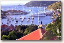 Gustavia Harbor St. Barts St Martin Sailing Yacht Charter Itinerary
