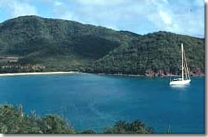 Carlisle Bay Antigua Charter Sailing Itinerary