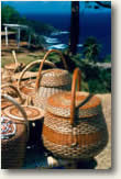Caribe Indian baskets Dominica