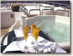 high end service Luxury Mega Yacht Charters