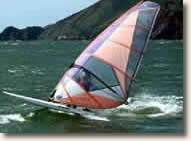 windsurfing on a Caribbean charter vacation