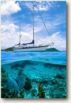 Sailing and Snorkeling in BVI