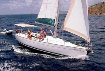 bareboat sailing monohull yacht charter