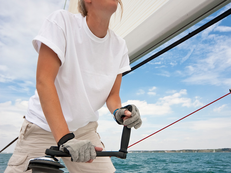 Sailing certifications on sailing vacation in  the Virgin Islands