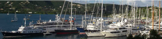 Brokers attend Antigua Yacht Show
