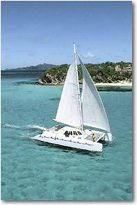 Catamaran Sailing Yacht Charter