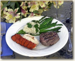 All inclusive Yacht Charter Meal included