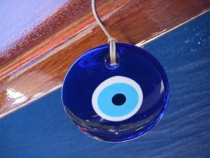 Turkish Evil Eye symbol to ward away evil