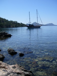 secluded coves of Turkey Sailing Vacation