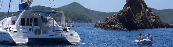 catamaran motor yacht sailing vacations